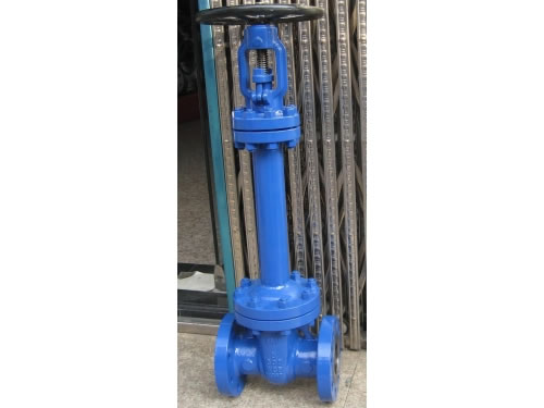 API Flanged Cast Steel Bellows Seal Gate Valve