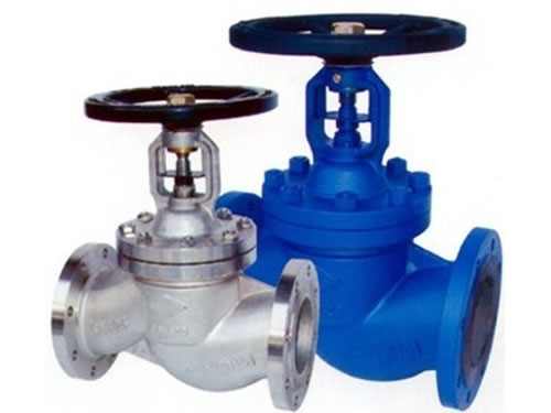 DIN Flanged Stainless Steel Bellows Seal Globe Valve